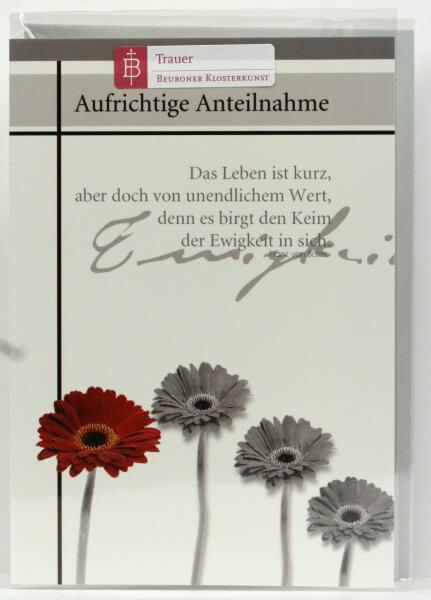 Trauerkarte - Ewigkeit