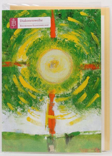 Karte zur Diakonenweihe - Lebensbaum