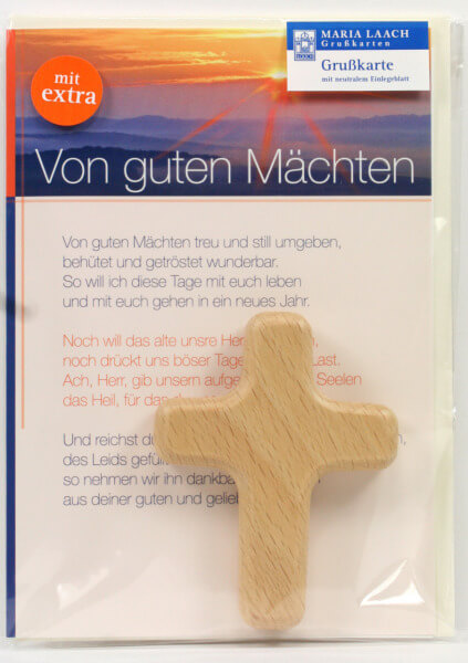 Neutrale Karte - Von guten Mächten & Kreuz
