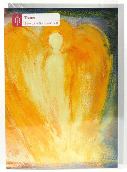 Trauerkarte - Engel mögen dich begleiten