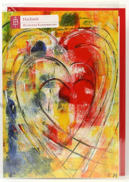 Hochzeitskarte - Kreativität der Liebe