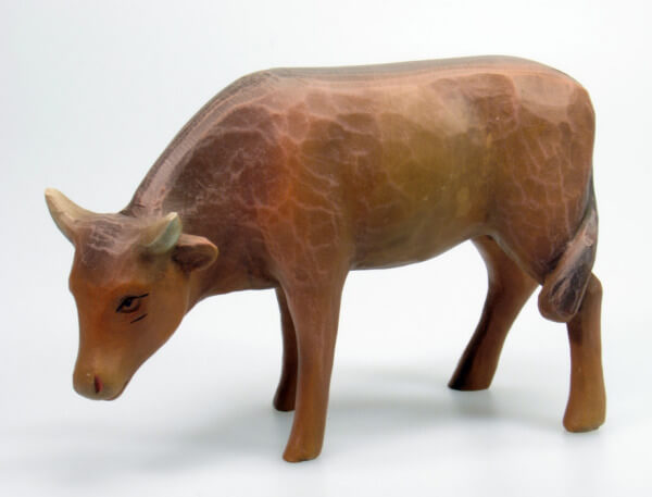 Gelenberg-Krippe - Ochs stehend - 18 cm