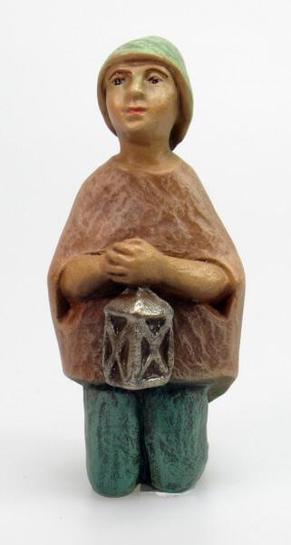 Gelenberg-Krippe - Junge kniend - 18 cm