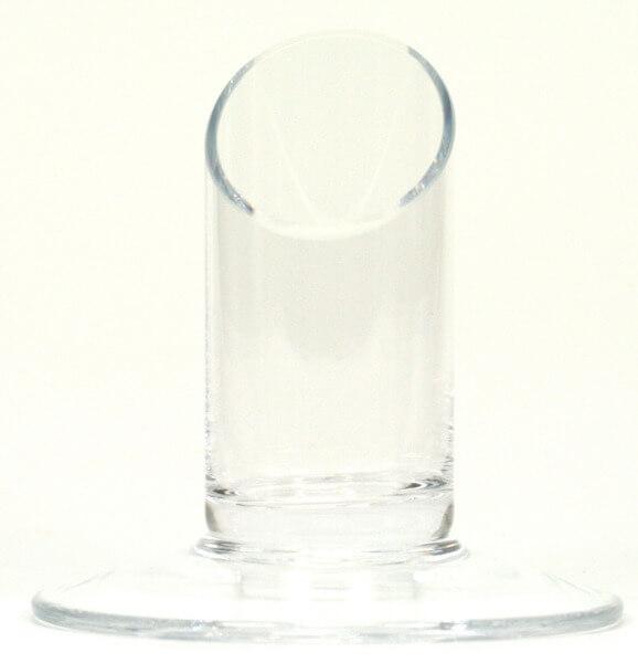Kerzenständer - Glas & 3,5 cm