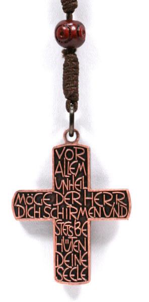Rosenkranz - Holzperle & Tombak-Kreuz