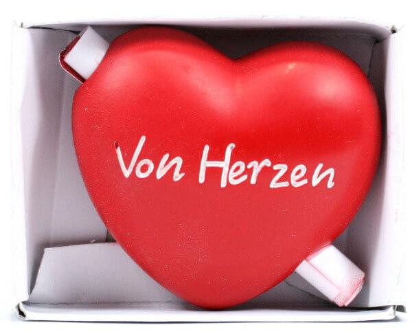 Holzherz - Von Herzen & Gutschein