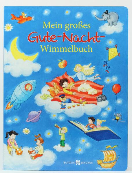 Kinderbuch - Mein großes Gute-Nacht-Wimmelbuch