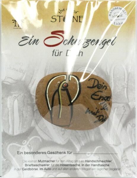 Handschmeichler - Dein Engel sei mit dir & Naturstein