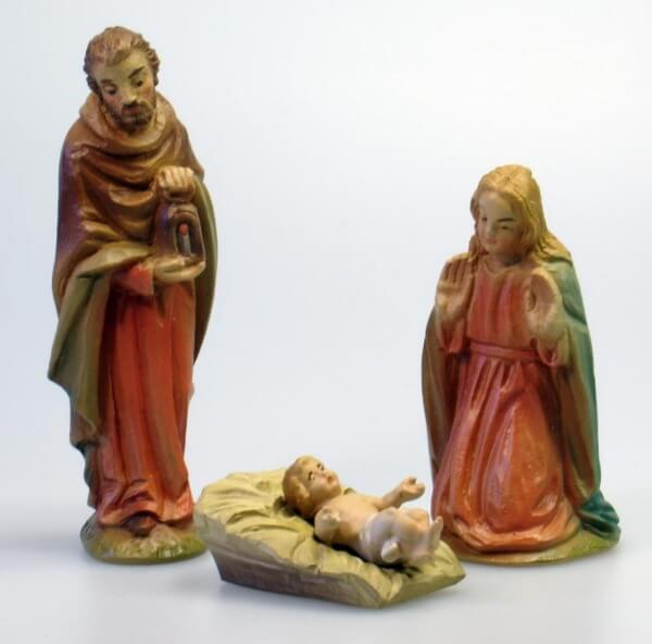 Dürer-Krippe - Hl. Familie