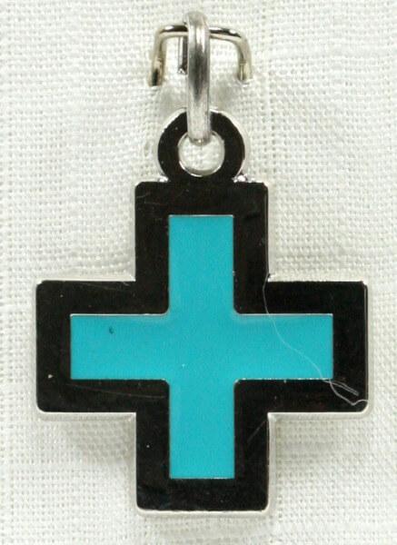Kettenanhänger - Kreuz & klein