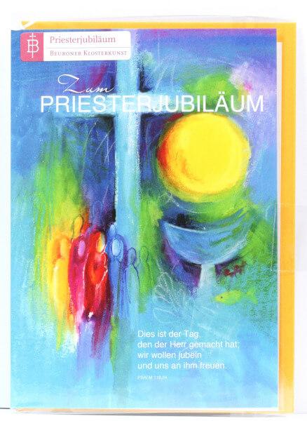 Karte zum Priesterjubiläum - Tag des Jubels