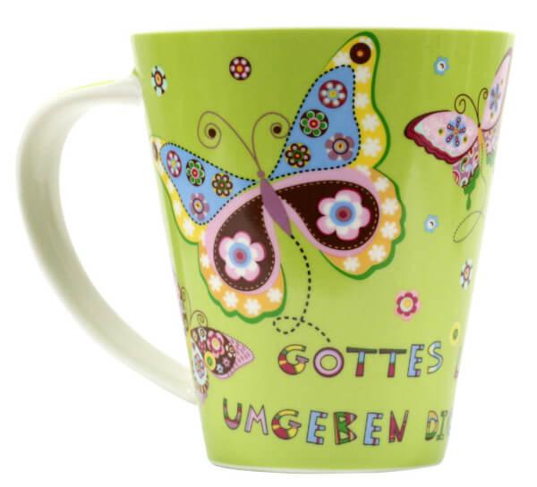 Jumbo-Tasse - Gottes Liebe & Schmetterlinge