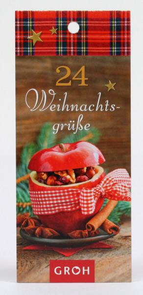 Adventskalender - 24 Grüße & Geschenkanhänger