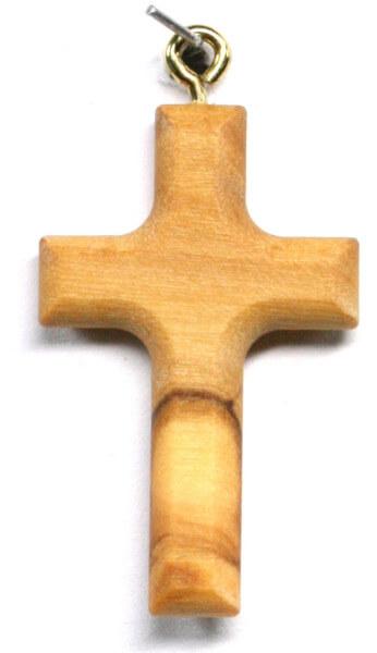 Rosenkranzkreuz - Olivenholz & Länglich
