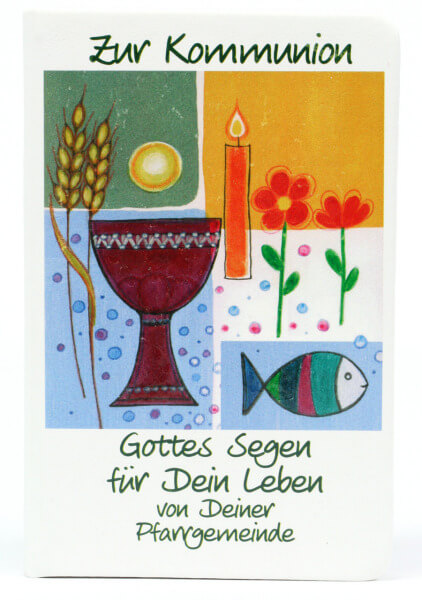 Geschenkbuch - Kommunion & Notizbüchlein