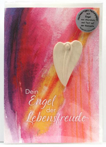 Engelkarte - Dein Engel der Lebensfreude & Handschmeichler
