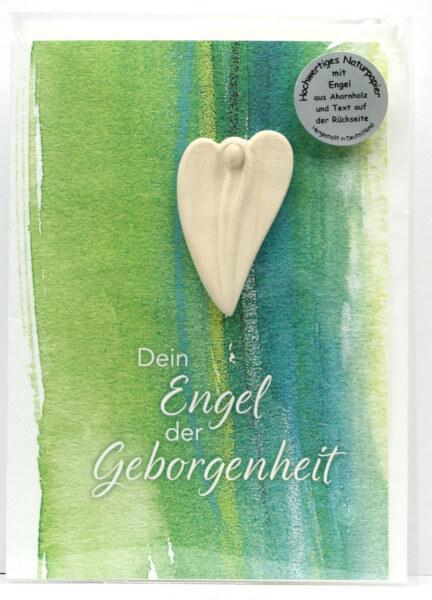 Engelkarte - Dein Engel der Geborgenheit & Handschmeichler
