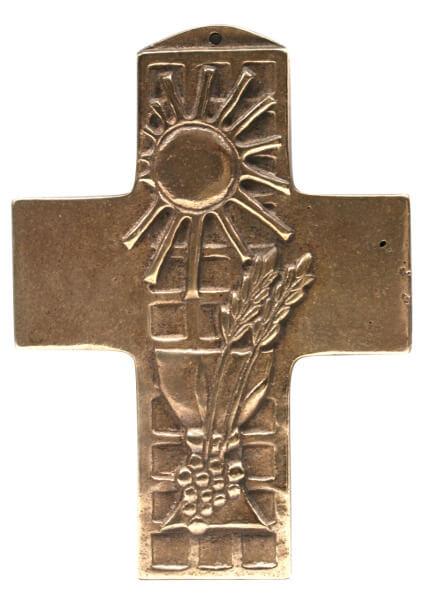 Kommunionkreuz - Mit Gottes Segen leben