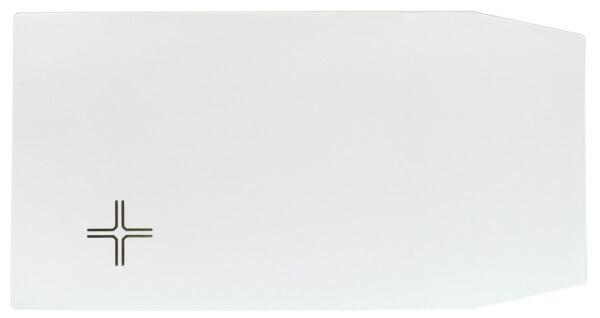 Gotteslobhülle - Weiß & Kreuz