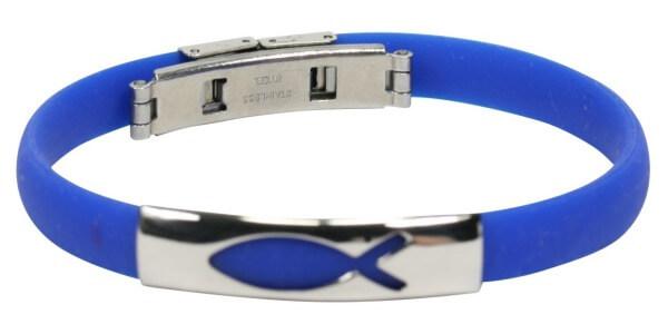 Armband - Fisch & Blau