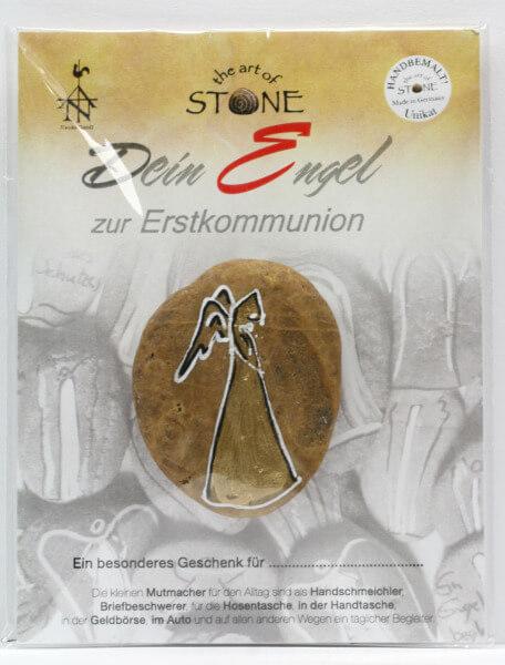 Stein-Handschmeichler - Dein Engel zur Erstkommunion