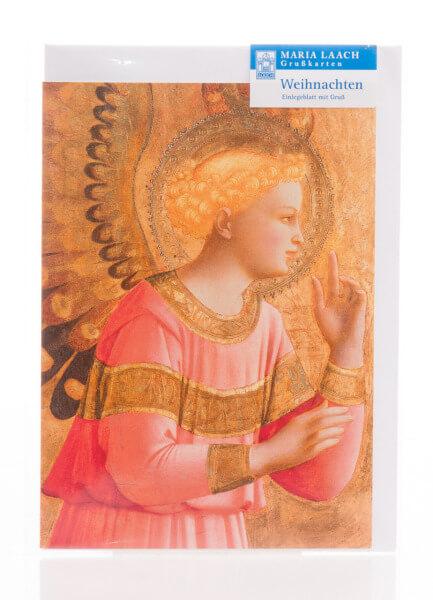 Weihnachtskarte - Verkündigungsengel & Fra Angelico