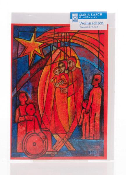 Weihnachtskarte - Alle unter seinem Stern & Heinen