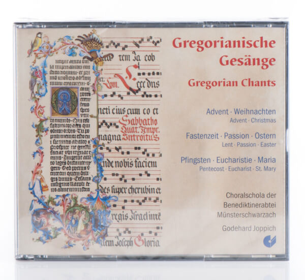 CD-Box - Gregorianische Gesänge der Abtei Münsterschwarzach