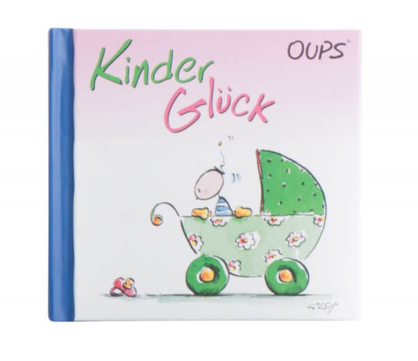Mini-Geschenkbuch - Kinder Glück & Moderne Illustration