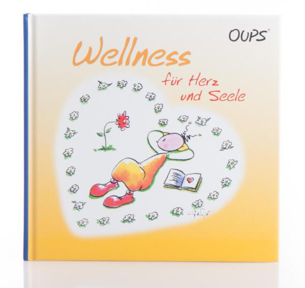 Geschenkbuch - Wellness für die Seele & Moderne Illustration