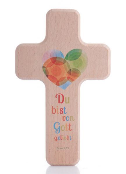 Kinderkreuz - Du bist von Gott geliebt
