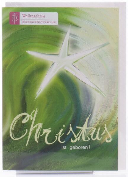 Weihnachtskarte - Weihnachtsstern