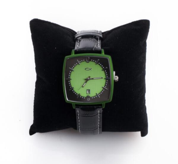 Armbanduhr - Fisch & Grün