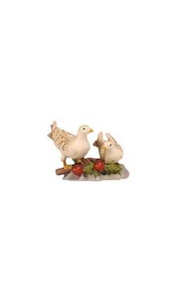 Kostner-Krippe - Taubenpaar