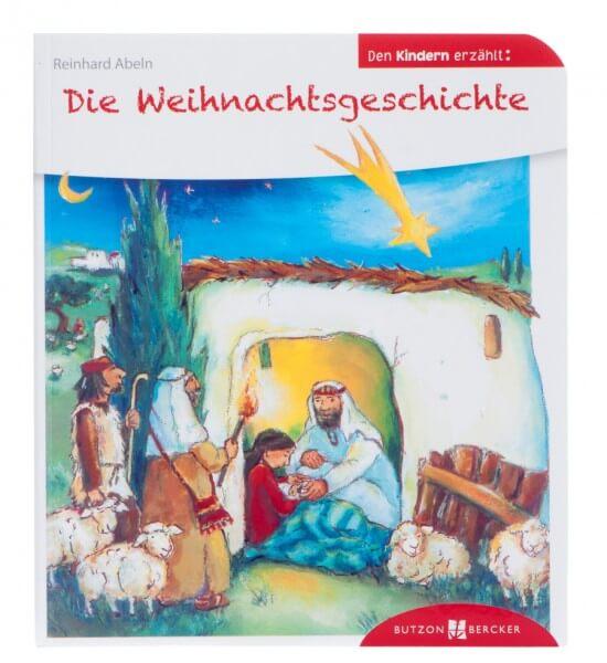 Kinderbuch - Die Weihnachtsgeschichte den Kindern erzählt