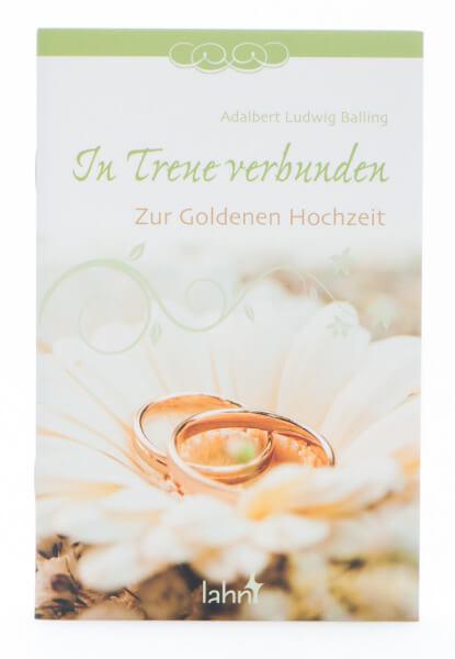 Geschenkheft zur Goldenen Hochzeit - In Treue verbunden