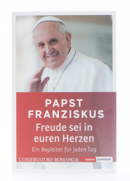 Buch - Papst Franziskus Freude sei in euren Herzen