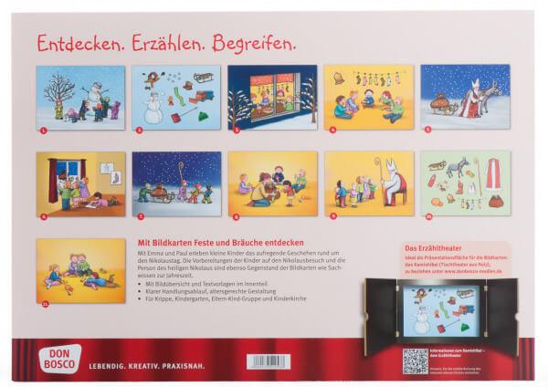 Bilderbuchgeschichten - Nikolaus feiern mit Emma und Paul