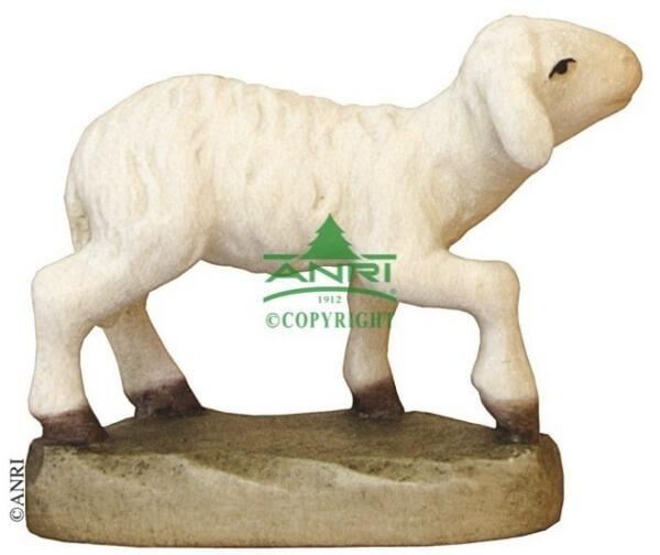 Karl-Kuolt-Krippe - Lamm stehend Kopf hoch