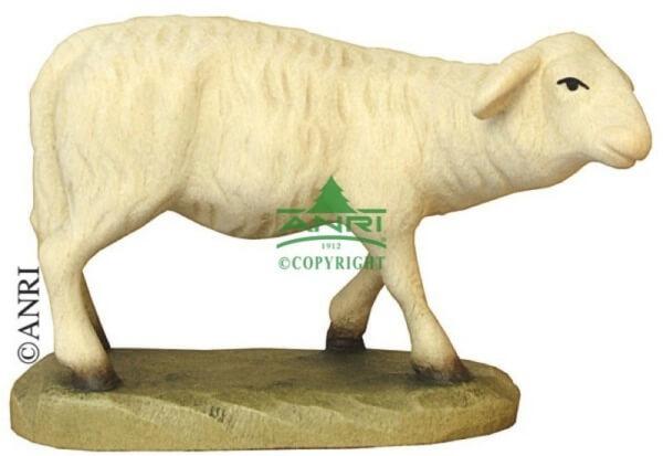 Karl-Kuolt-Krippe - Schaf stehend rechts