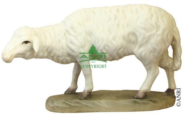 Karl-Kuolt-Krippe - Schaf stehend und schauend