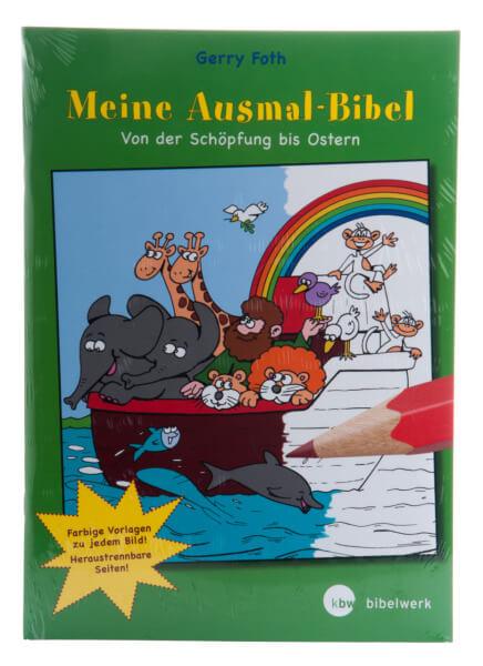 Kinderbibel - Meine Ausmal-Bibel