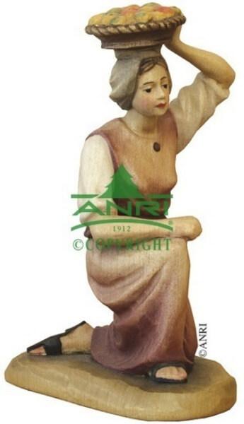 Karl-Kuolt-Krippe - Kniendes Mädchen