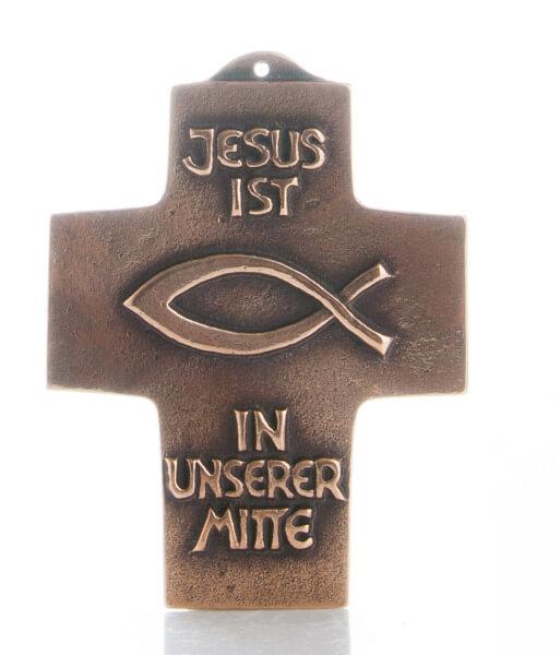 Kommunionkreuz - Jesus ist in unserer Mitte