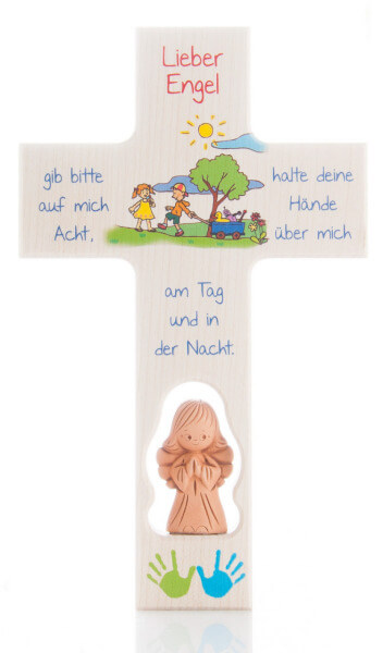 Kinderkreuz - Gib auf mich Acht
