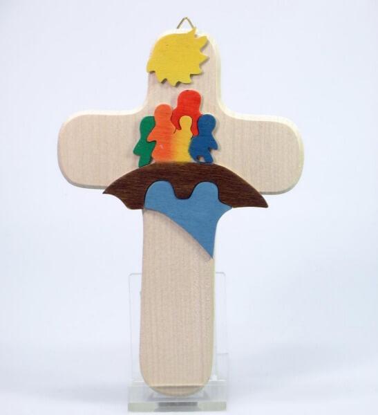 Kinderkreuz - Kinder auf Brücke