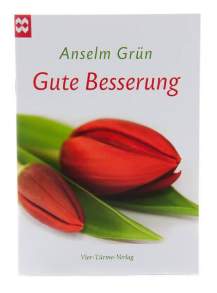 Geschenkheft - Gute Besserung & Tulpe
