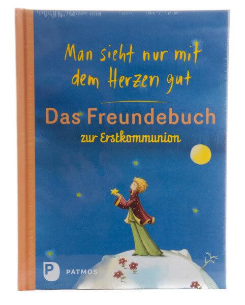 Freundebuch - Man sieht nur mit dem Herzen gut