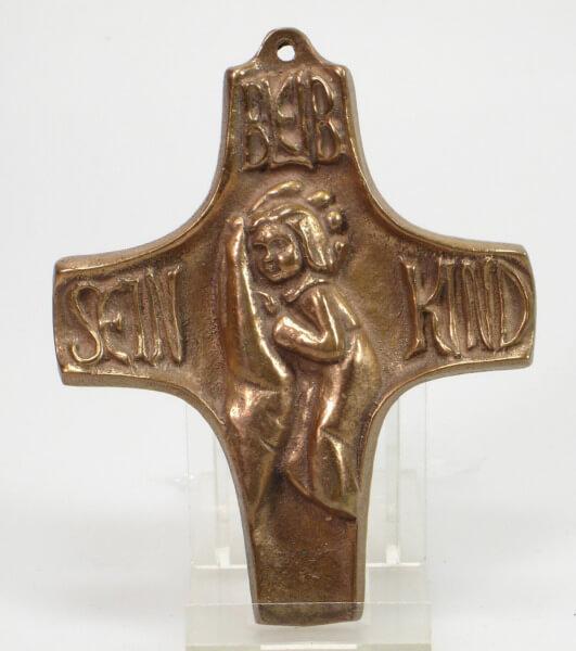 Kommunionkreuz - Bleib sein Kind
