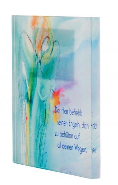 Glasrelief - Der Herr befiehlt...